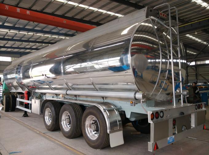 Diesel fuel tank 3 axle tanker trailer - SINOTRUK (HOWO