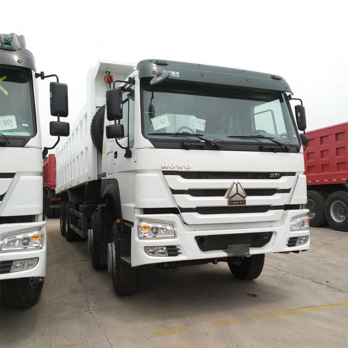 HOWO Heavy Duty Dump Truck 12 Tyres 371 Hp 12 Wheel 8x4