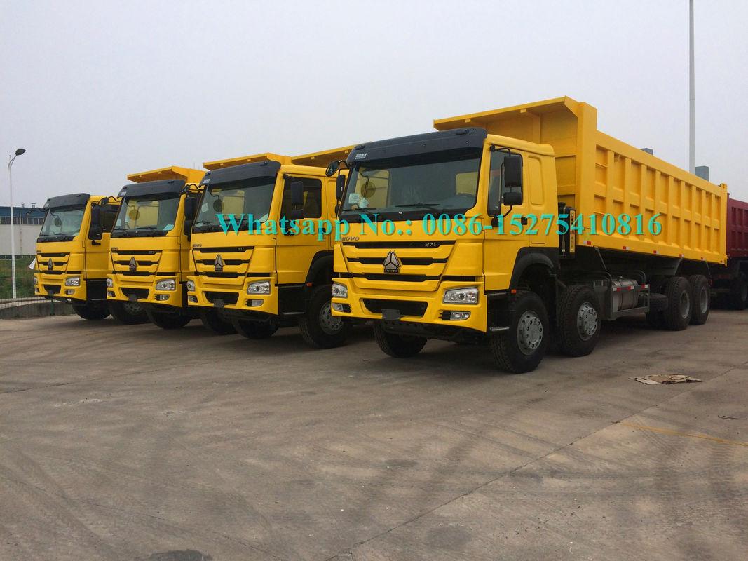 ZZ3257N3647A Heavy Duty Ten Wheeler Dump Truck With