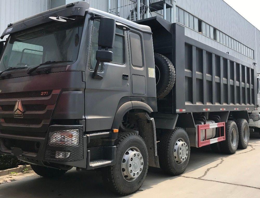 ZZ3317N3867W 12 Wheeler Heavy Duty Dump Truck With 371HP