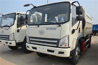 Euro 3 FAW J5K 10 Ton Dump Truck 4x2 250HP , XICHAI Diesel